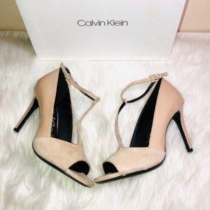 Calvin Klein Nicolette Heeled Sandals 7